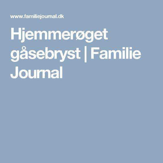 Hjemmerøget gåsebryst | Familie Journal