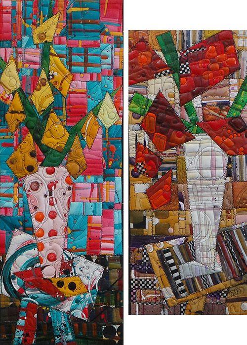 Art quilt by Katie Pasquini Masopust #SAQA #artquilts   SAQA ... : quilting arts subscription - Adamdwight.com