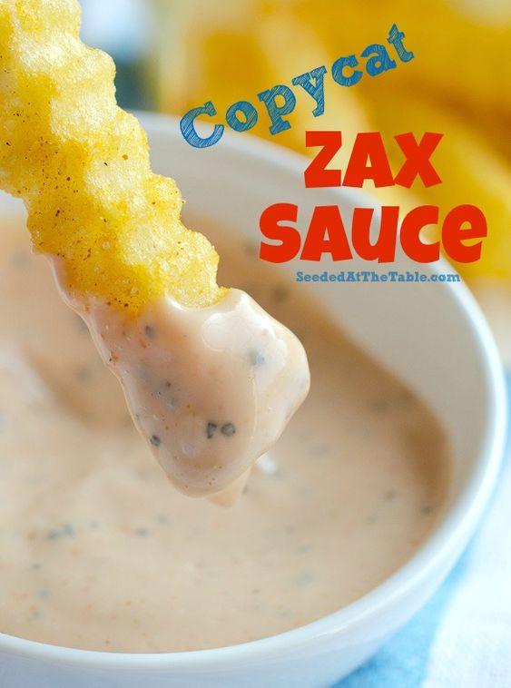Copycat Zax Sauce (Dipping Sauce for Chicken & Fries)