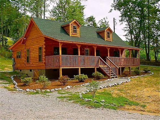 Lake Lure Floor Plan By Blue Ridge Log Cabins Cabin