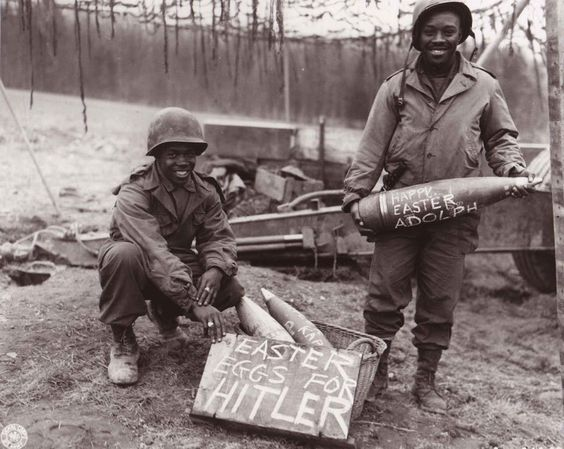 Easter Eggs for Hitler- 1944/1945 (Photograph by US Army/ National Archives)