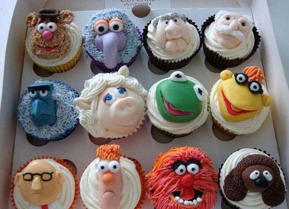 Mupets! cupcakes