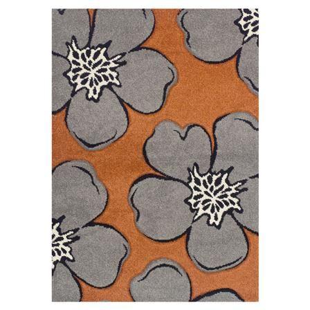 Alfombra Poppy de Oriental Weavers, naranja
