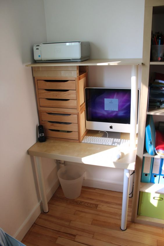 Bureaux tables and ikea on pinterest - Prix d un bureau ...