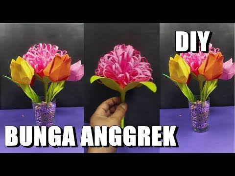Bunga Dahlia Dari Kertas Origami Diy Cara Membuat Kerajinan Tangan