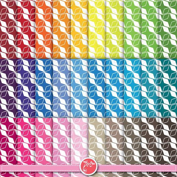 Digital Paper Digital Scrapbook Paper Pack  by YenzArtHaut on Etsy, $3.00