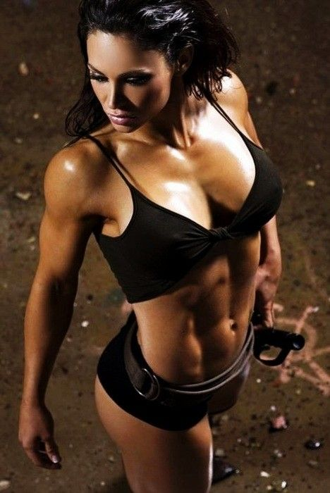 Isn't she something! Get in shape, my girls. Hell yes! My dream bod