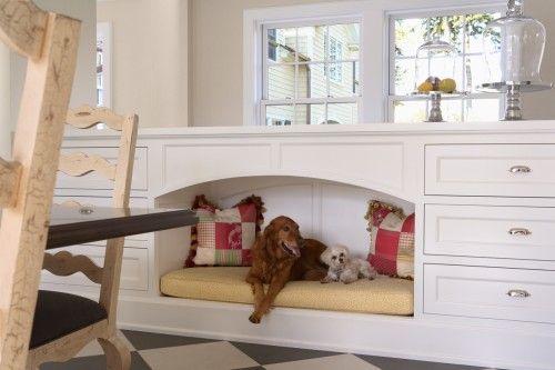 hidden dog bed