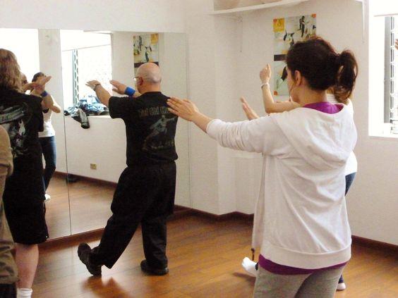 Foto de la Master Class de Tai Chi