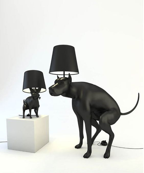 The Good Boy Lamp designed by Whatshisname is an item of everyday use that makes the user uncomfortable with every use