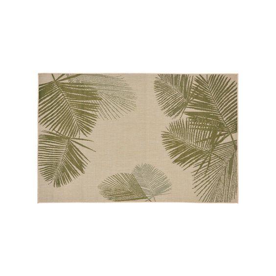 Liora Manne Terrace Palm Indoor Outdoor Rug, Green