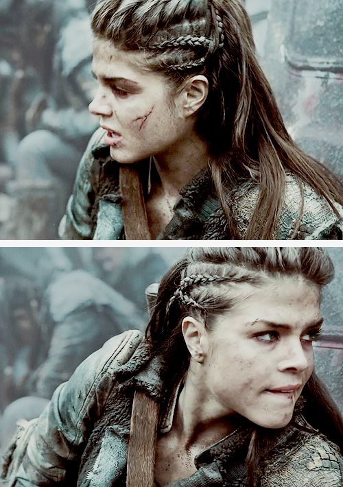 The 100 Octavia Blake (source: livebreathesuffer - Braided Hairstyles For White Girls