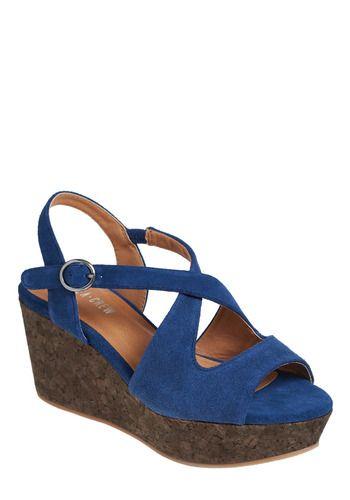 Blue suede shoes?