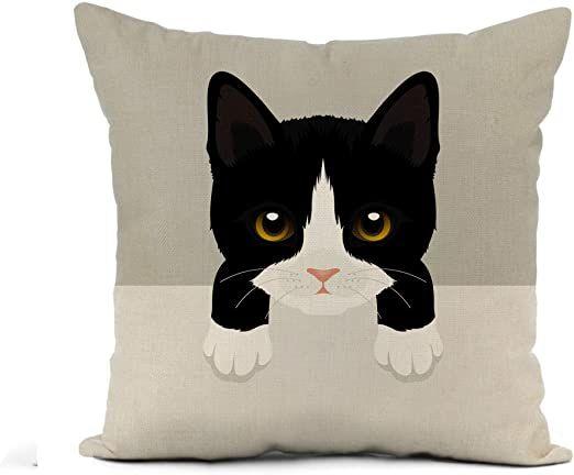"12x20/"" Black White World Map Pillow Case Cushion Cover Pillowslip Home Decor"