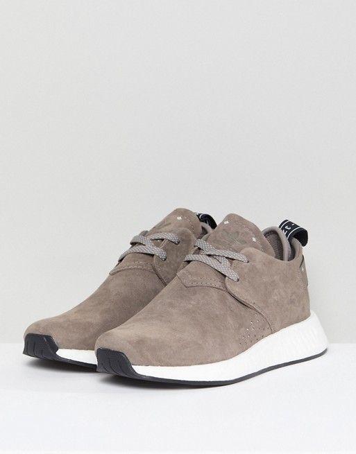 adidas Originals   adidas Originals NMD C2 Sneakers In Taupe Suede ...