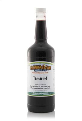 Tamarind Shaved Ice and Snow Cone Syrup - Quart