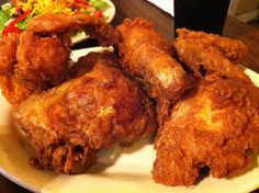 Fried Chicken Recipe | Fried Chicken at Willie Mae's Scotch House, New Orleans