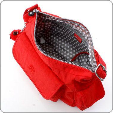 KIPLING TASCHEN : Schultertasche Priska N - Cardinal Red