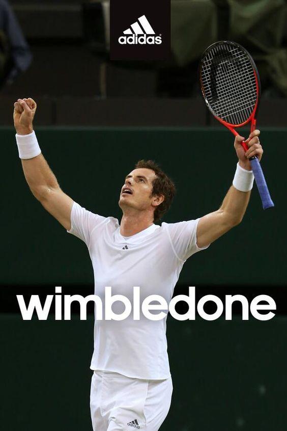 Adidas, Head, RBS: Sponsors celebrate Andy Murray's Wimbledon win on Twitter
