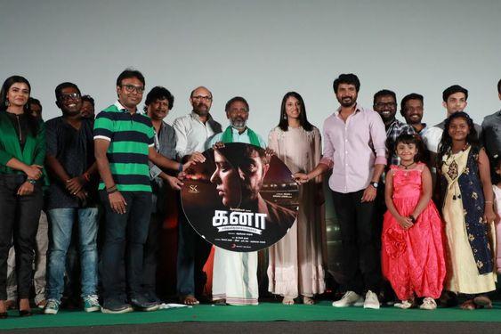 Sivakarthikeyan, Smriti Mandhana At Kanaa Audio Movie Launch