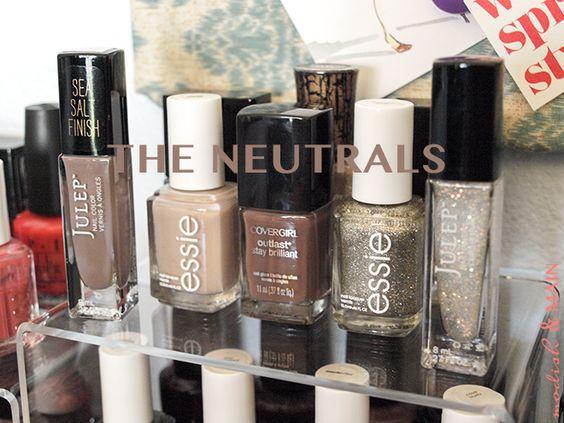 neutral color nail polish