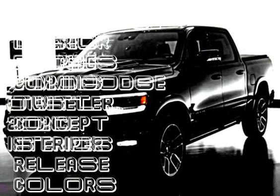 2020dodge Interior Graphics Cummins Twitter Concept Stripes Release Colors Butler Gerard Diesel Dually Stripe Decalsdiesel 2020 Interior Dodg 2020
