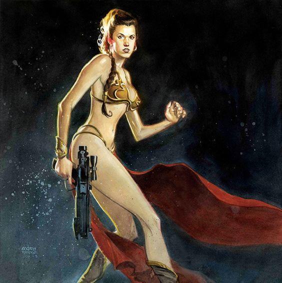 Princess Leia by Andrew Robinson