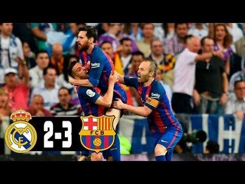 Real Madrid Vs Barcelona 2 3 Resumen Del Partido Completo Todos Los Youtube Content Music