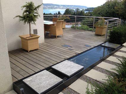 terrasse wasserbecken google suche gartengestaltung. Black Bedroom Furniture Sets. Home Design Ideas