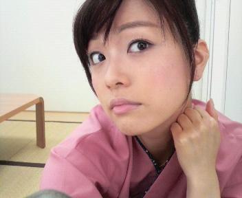 本田朋子自撮りのアップ画像