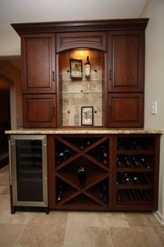 wine bar for home - Google Search