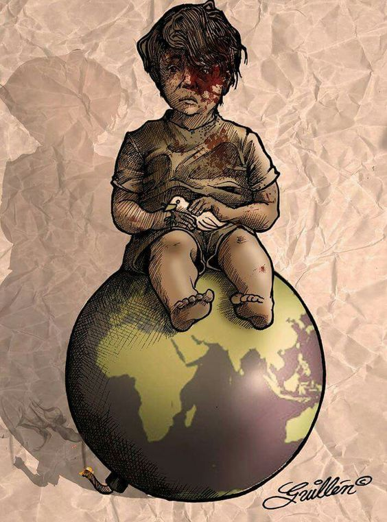 OMRAN - By: Mexican cartoonist Efrain Guillen Morales