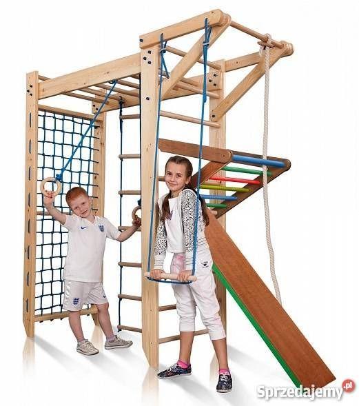 Plac Zabaw Domowy Z Drewna Malpi Gaj Drabinka Gimnastyczna Decor Loft Bed Gaj