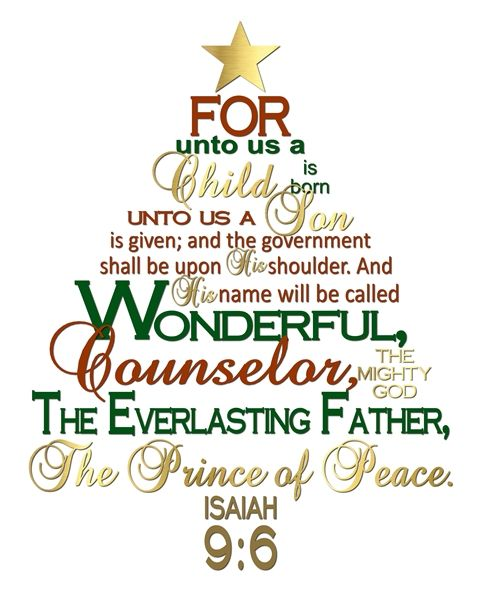 The Idea Door:  Free Christmas Printable - The Divine Mission of Jesus Christ: Prince of Peace