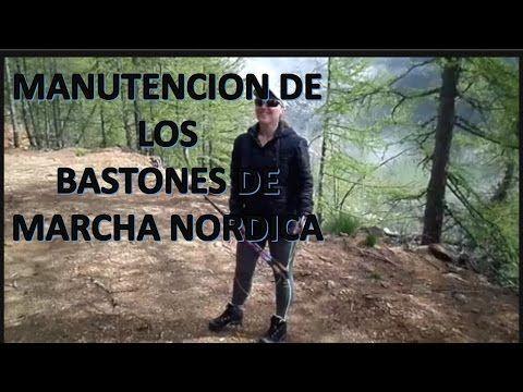 COMO LIMPIAR LOS BASTONES DE MARCHA NORDICA - YouTube