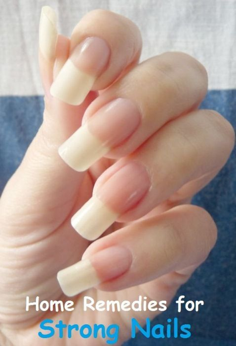 A Healthy Lifestyle Dietary Changes A Proper Nail Care Regimen And Some Simple Home Remedies Can Help Fix Th In 2020 How To Grow Nails Grow Nails Faster Strong Nails