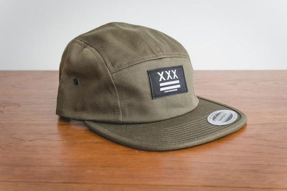 Straight Edge 5-panel hat by STRAIGHTEDGEWORLDWIDE
