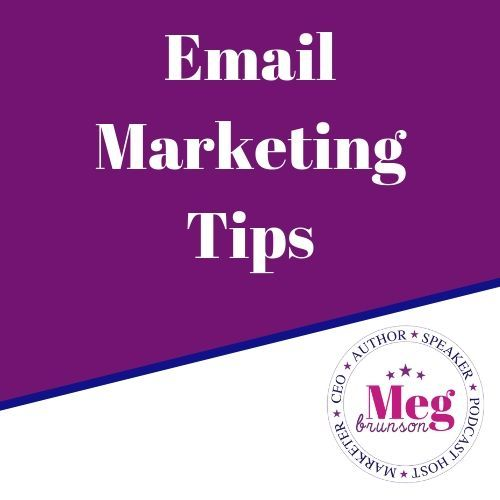 Email Marketing Tips Board Marketing Tips Personal Marketing Email Marketing Template