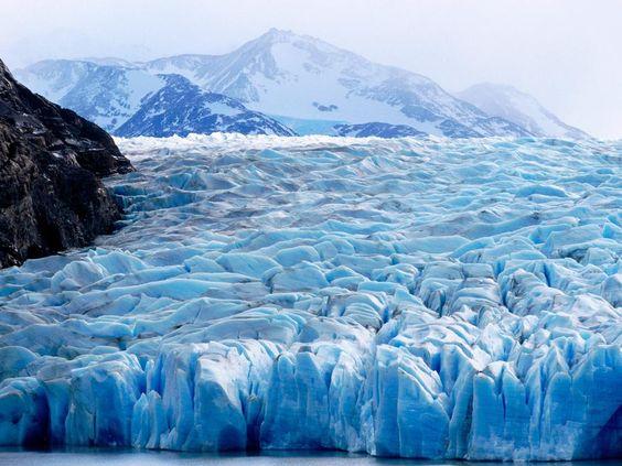 Glaciar Torres del Paine  Chile.