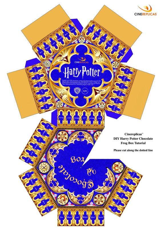 D8874 Chocolate Frog Box Template Wiring Resources Within Chocolate Frog Card Template Harry Potter Ornaments Harry Potter Miniatures Harry Potter Diy