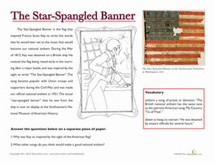 National Treasures The Star Spangled Banner Songs The