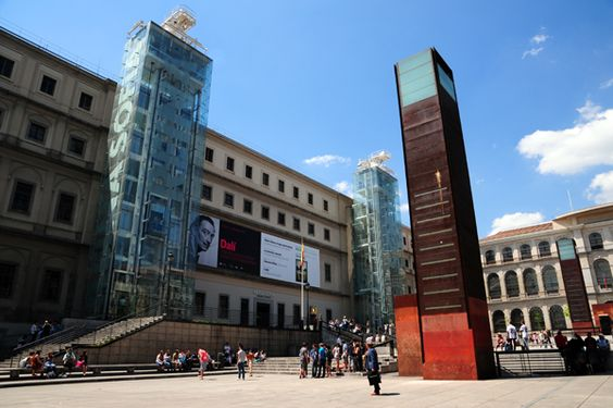 Un día contemporaneo en el Museo Reina Sofia (Madrid)