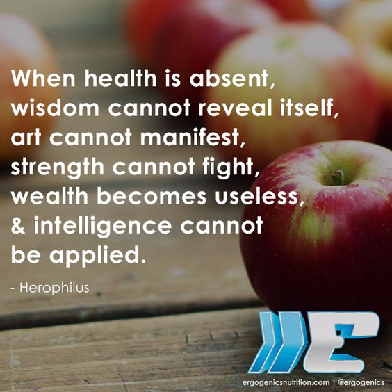 Take care of your #health!  #healthyliving #nutrition
