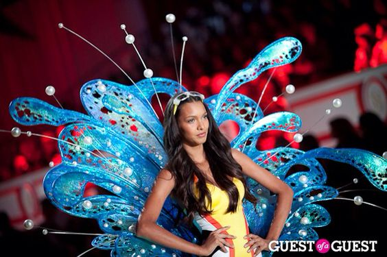 Lais Ribeiro. She's such a lovely person, inside and out.