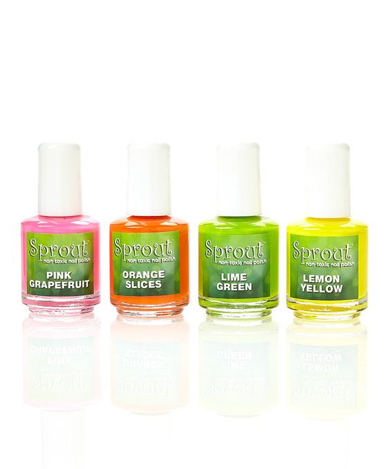 Look at this Sprout Non Toxic Nail Polish The Lemonade Stand Nail Polish Collection on #zulily today!
