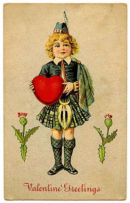 Vintage Valentine Clip Art - and a GIVEAWAY - The Graphics Fairy
