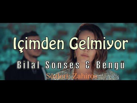 Bilal Sonses Bengu Icimden Gelmiyor L Sozleri Lyrics L Zahiros Youtube Sarkilar Alfa Romeo Muzik