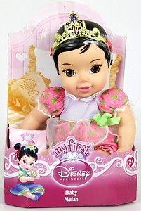 New My First Disney Princess Baby Mulan Doll Toddler Soft