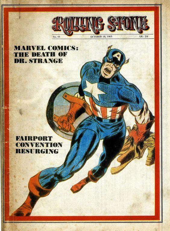 Cap'n's Comics: Rolling Steranko Magazine With Jim Steranko