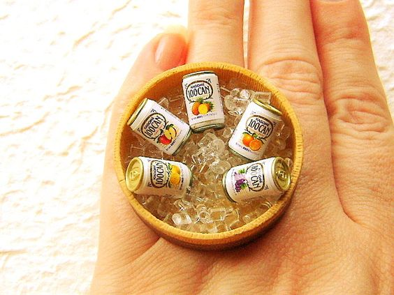 Cute & Quirky Mini-Food Jewelry by SouZouCreations